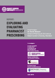 Report: Exploring and Evaluating Pharmacist Prescribing (June 2010)