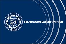 Records Management Department