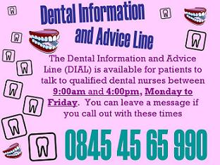 Dental Information and Advice Line