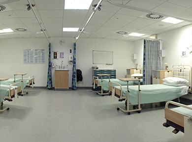 Faculty of Health and Social Care 6-bedded ward