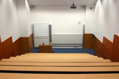 Faculty of Health and Social Care lecture theatre